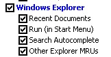 windows explorer options